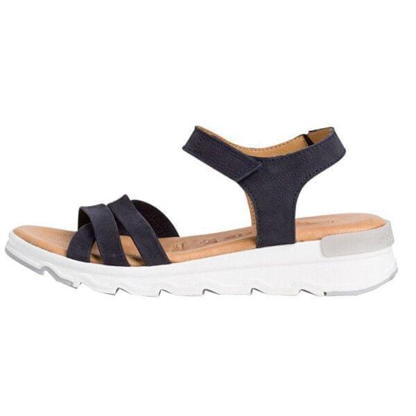 Tamaris Skórzane sandały 1-1-28709-26 1-1-28709-26-805 (Wielkość 38).