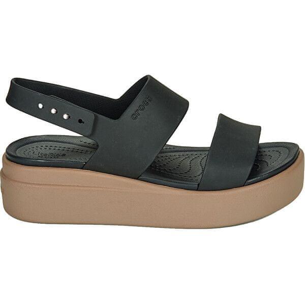 Crocs Crocs Brooklyn Low Wedge W Damskie sandały W. Black / Grzyb 206453-07H (Rozmiar 36-37).