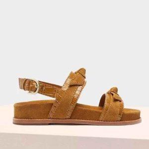 ALEXANDRE BIRMAN - Brązowe sandały Clarita.